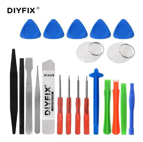 Kit pro herramientas reparación celulares electrónica x 21