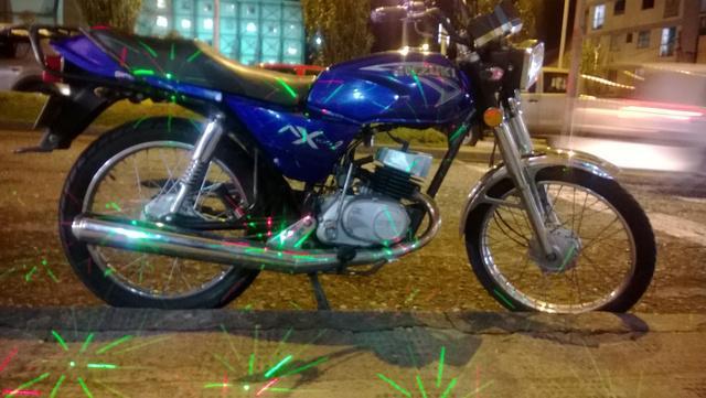 Motos suzuki ax-2 azul