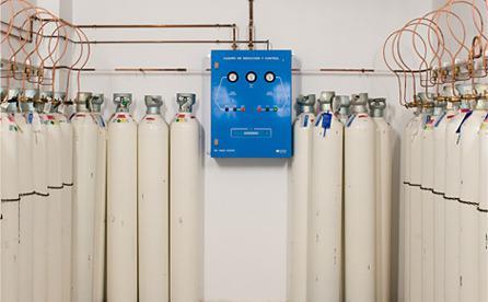 Proyectos de diseño de redes de gases medicinales