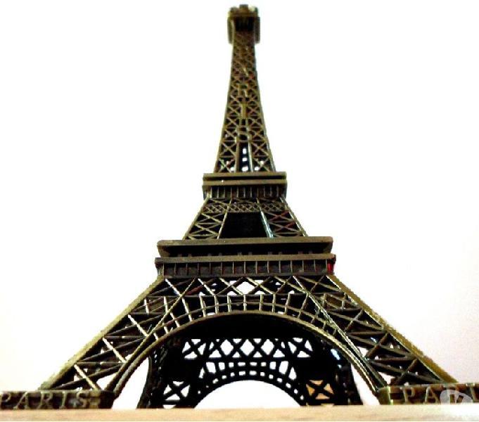 Torre eiffel miniatura replica coleccionable