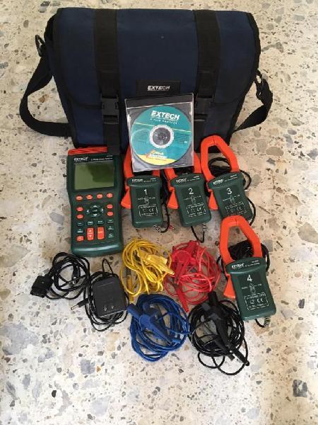 Vendo analizador de redes eléctricas extech 382090