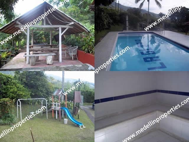 Alquiler de fincas de recreo copacabana codigo. 4034