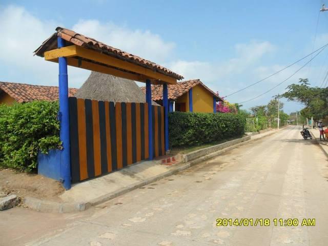Alquiler de cabaña cerca del mar en punta bolivar, san
