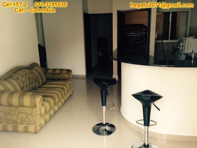 Apartamento amoblado en alquiler vacacional en cali colombia