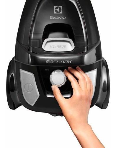 Aspiradora electrolux easy box negra 1600w