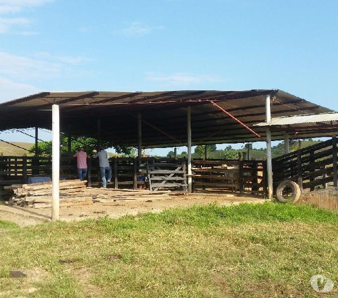 Finca ganadera de 240 hectáreas en cimitarra