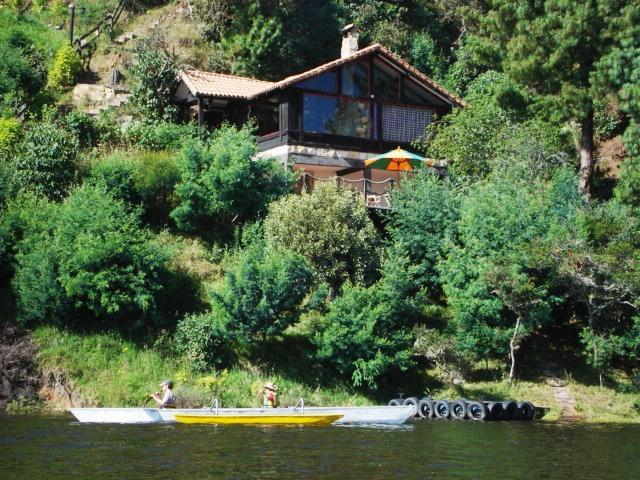 Sisga, cundinamarca, espectacular cabaña a orillas de la