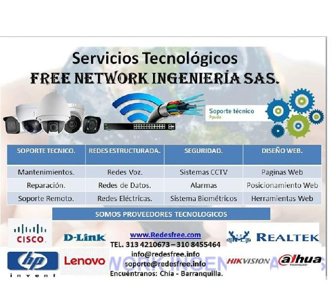Soluciones tecnológicas free network ingeniería
