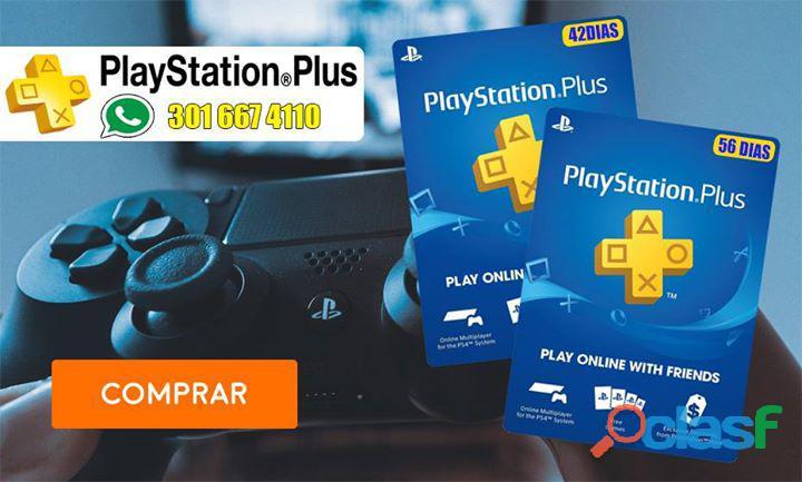 Play station plus ( juegas en linea con tu perfil )