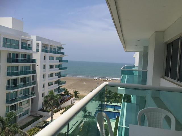 Apartamento en venta frente al mar caribe