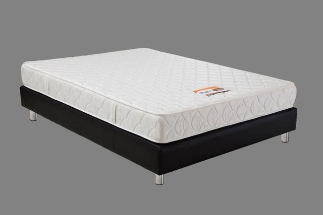 Base cama somier + colchon ortopedico