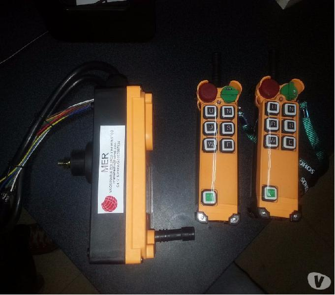 Control remoto (botonera) inalambrico para usos industriales