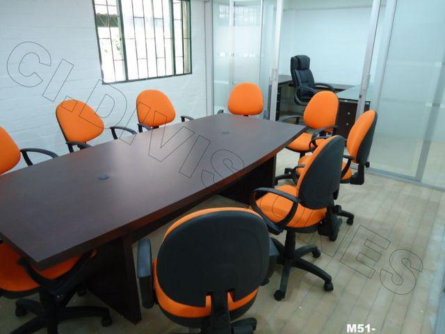 Divisiones, mesas de juntas, muebles para oficina fabrica