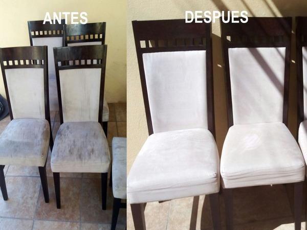 Lavado de muebles sillas salas tapetes alfombras sofás y