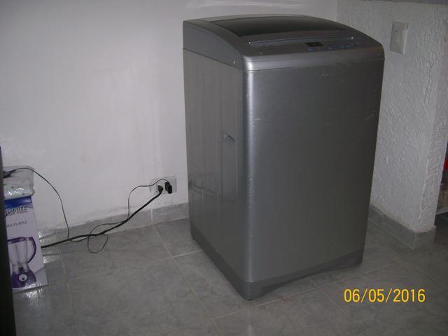 Lavadora electrolux de 16 libras