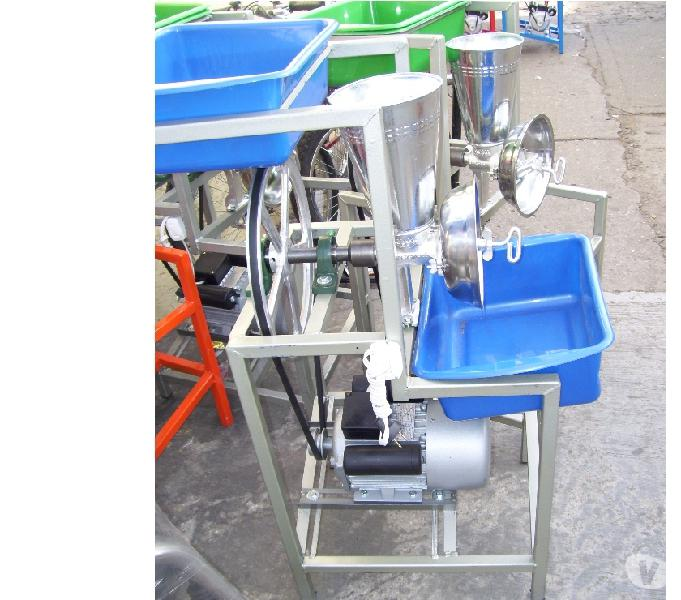 Molino industrial motor de (1hp) un caballo