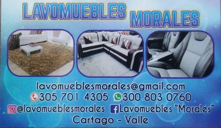 """Servicio de limpieza lavomuebles """"morales"""""""
