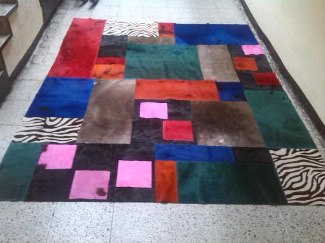 Tapetes en cuero bogota modernos tapetes en cuero tapetes en
