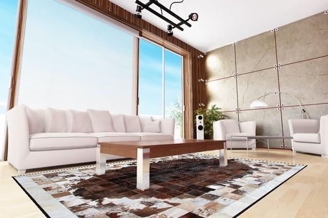 Venta de alfombras modernas para salas
