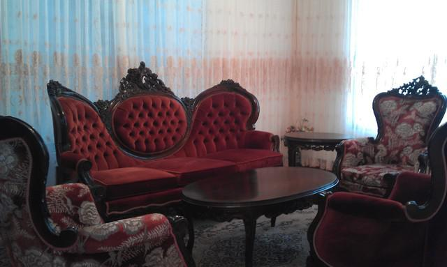 Vendo muebles en madera tallada estilo luis xv