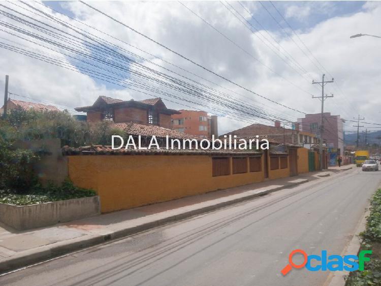 Se vende casa lote en cajica cundinamarca
