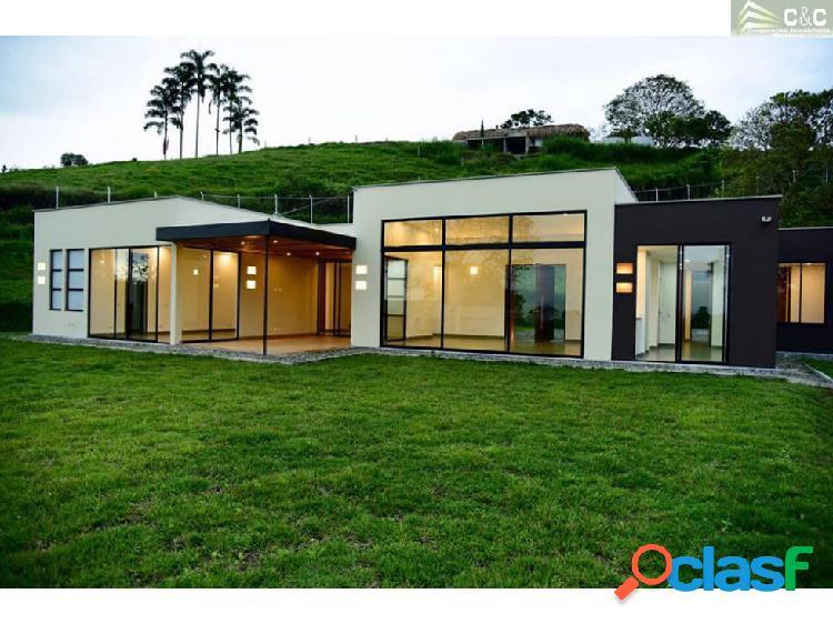 Casa campestre en venta en circasia 3563