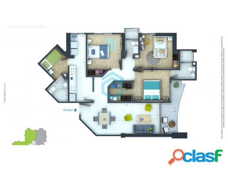 Venta apartamento barrio la castellana