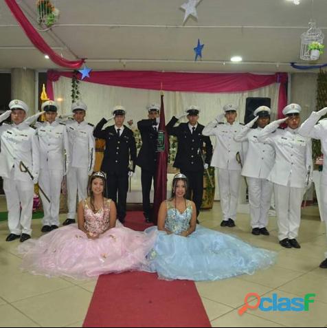Cortes militares para 15 años bodas