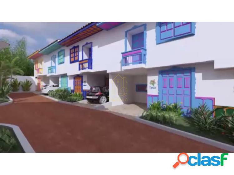 Se venden casas típicas sobre planos filandia