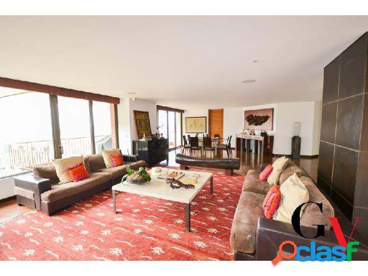 Espectacular apartamento para venta en chicó alto