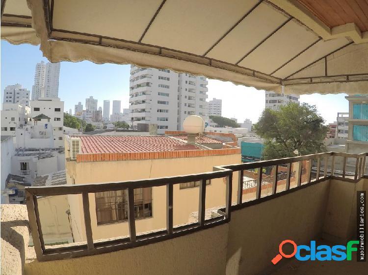 Venta apartamento amplio en manga cartagena