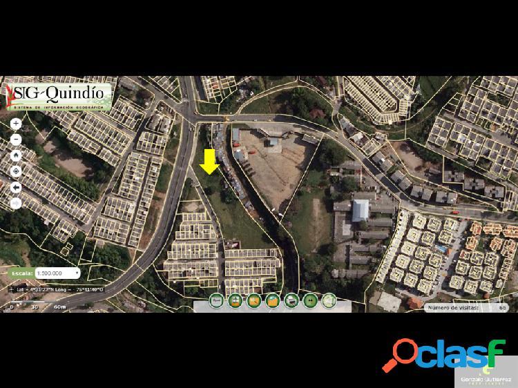 Lote urbano sur armenia 6256
