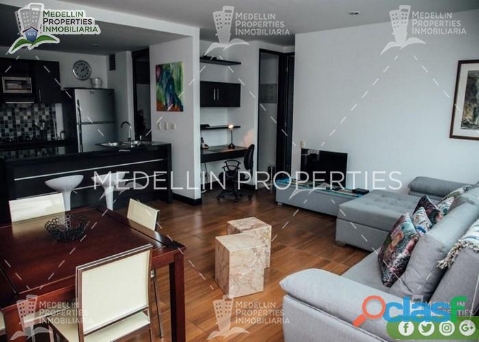 Apartamentos amoblados en alquiler en el poblado cod: 5015