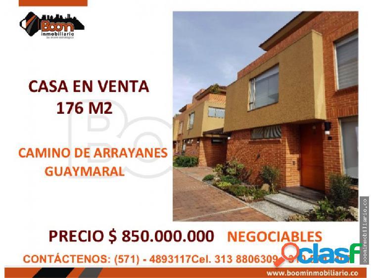 *vendo casa 176 m2 camino de arrayanes ganga
