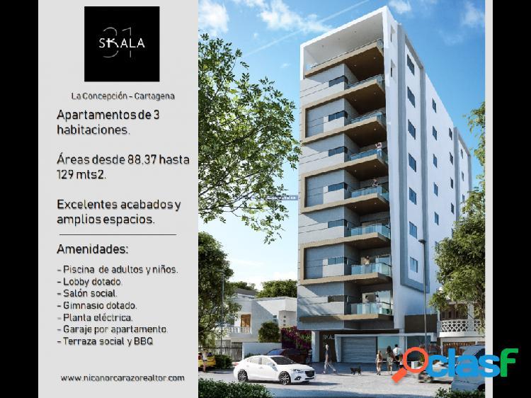 Proyecto edificio skala 31 - la concepción