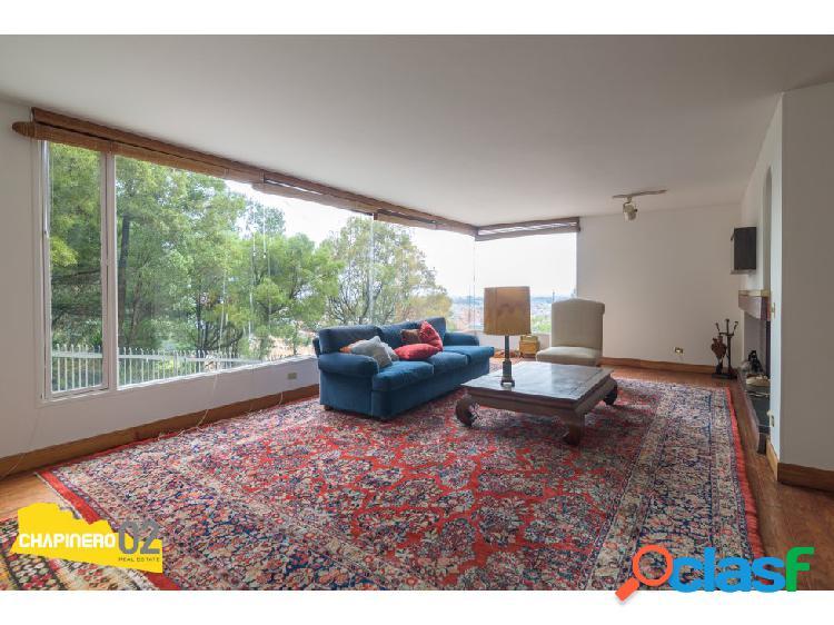 Apto venta:: 278 m²:: chicó alto:: $1.800m