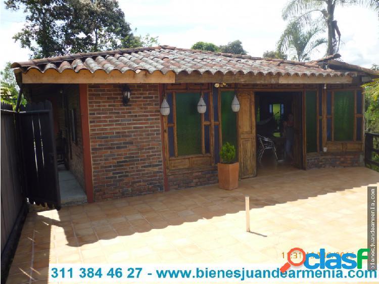 Casa campestre 600 mts- km 1 tebaida pueblo tapao