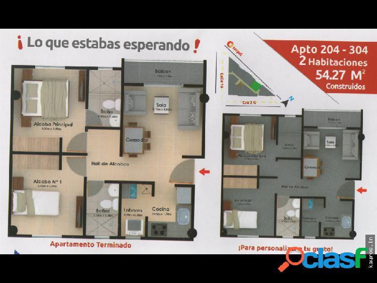 Apartamentos en planos margen izquierda