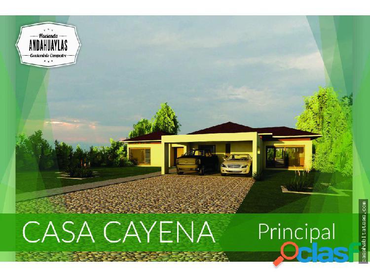 Condominio Casa Cayena en venta en Combia Pereira