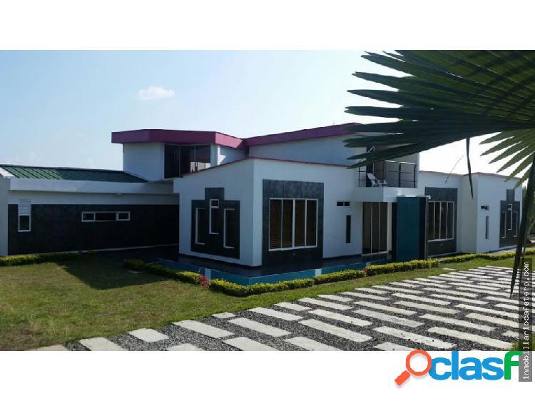 Casa campestre en venta vía montenegro 3297