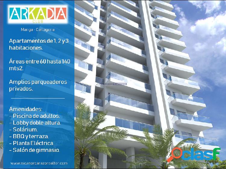 Proyecto edificio arkadia club en manga cartagena