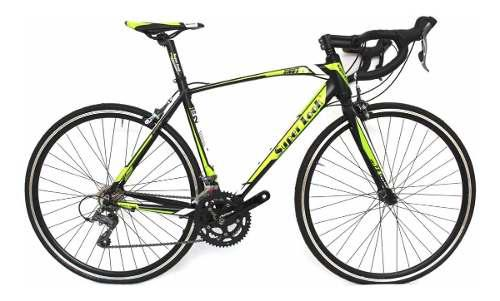 Bicicleta de ruta aluminio grupo shimano claris super look
