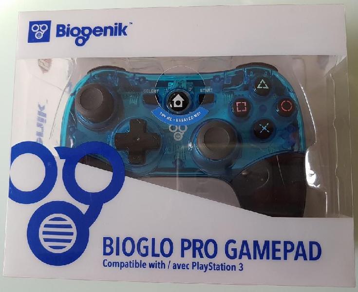 Control ps3 inalambrico biogenik bioglo pro gamepad wl081