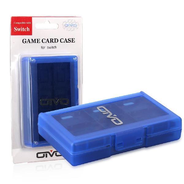 Estuche caja organizadora juegos nintendo switch
