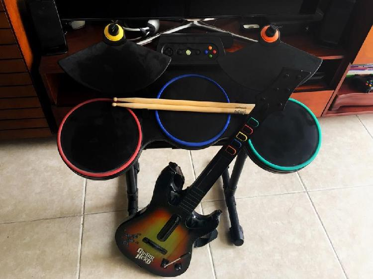Guitar hero kit bateriaguitarramicro