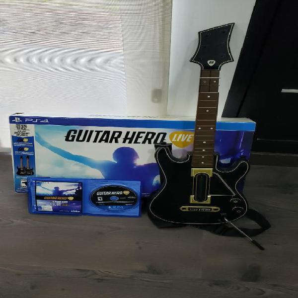 Guitar hero live ps4 2 guitarras
