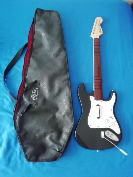 Guitarra Rock band XBOX 360 inalambrica excelente estado