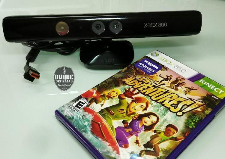 Kinect sensor xbox 360 juego adventures usado original