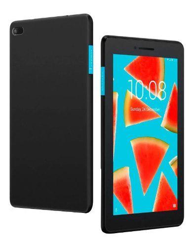 Tablet lenovo tab e7 tb-7104f quadcore 8gb wifi negra+funda