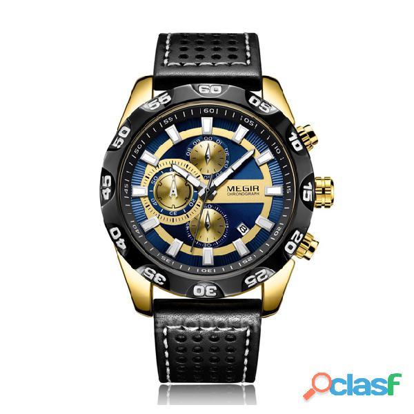 Relojes Megir para hombre y mujer 5